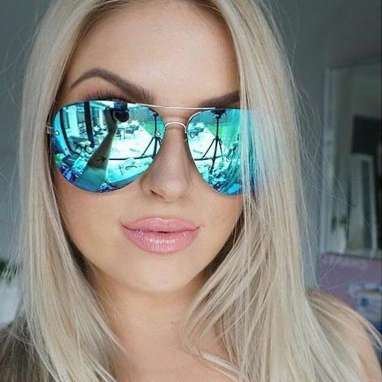Women Mirrored sunglasses Ideas, Street fashion