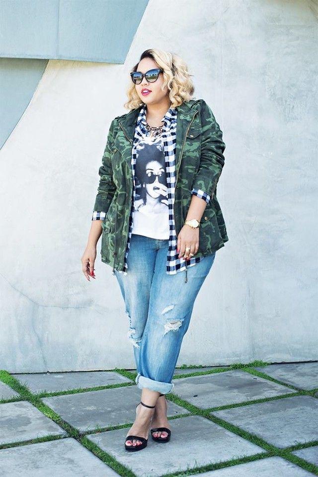 Plus size street style, Street fashion