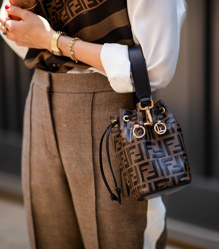 Fendi bucket bag style, Fashion accessory