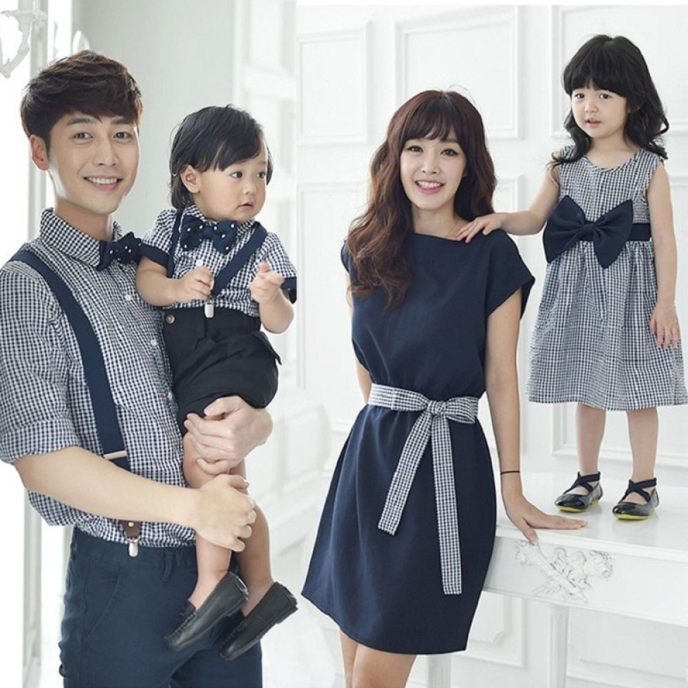 Mom dress and son, Infant clothing