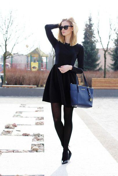 Lovely! kpop travel outfit, Little black dress