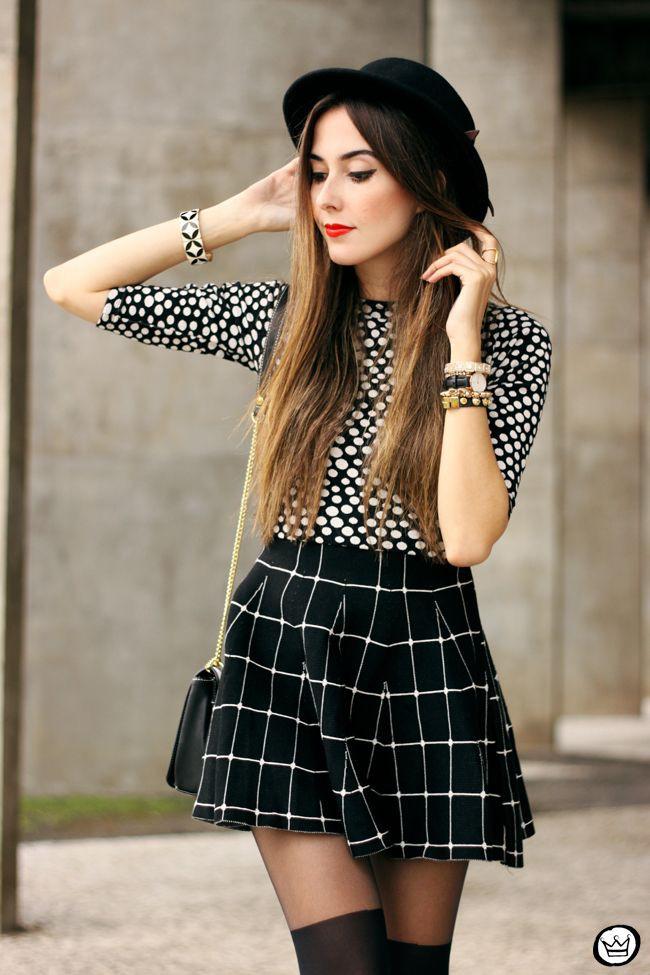 Get more of fashion model, Polka dot