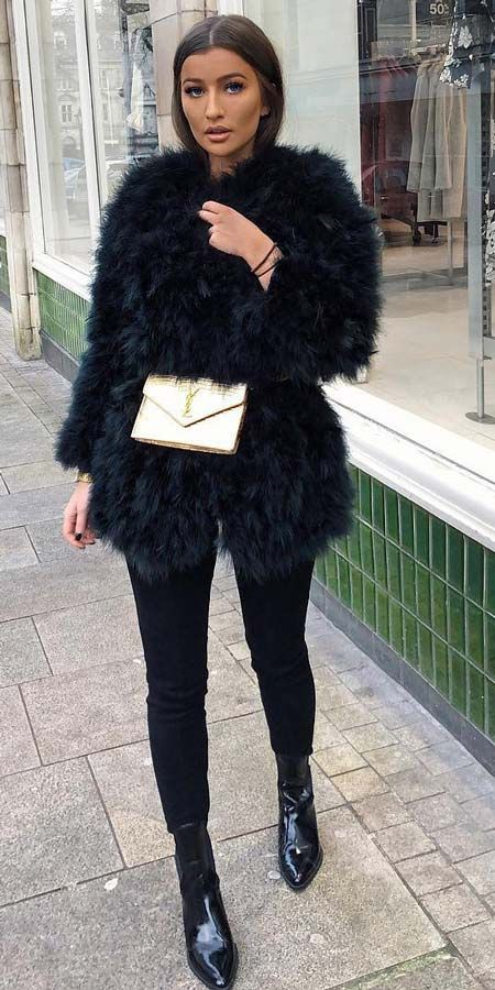 Best platform to see fur jacket outfit, Fur clothing
