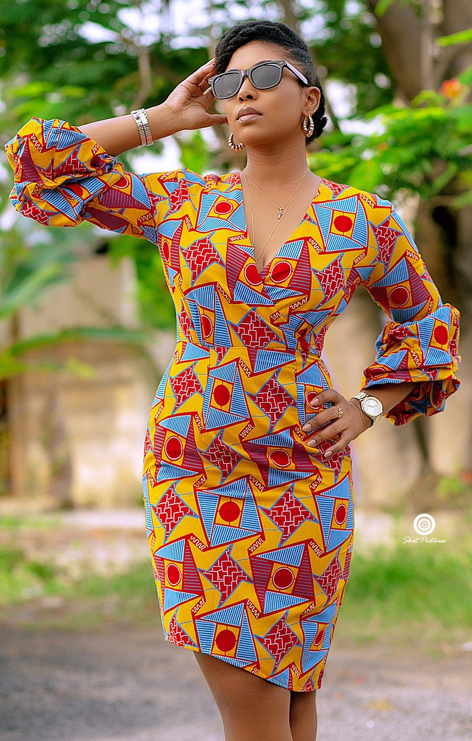 Trendy and elegant africa wear style
