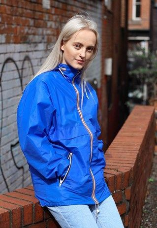 These are fantastic electric blue, Raincoat, Blue