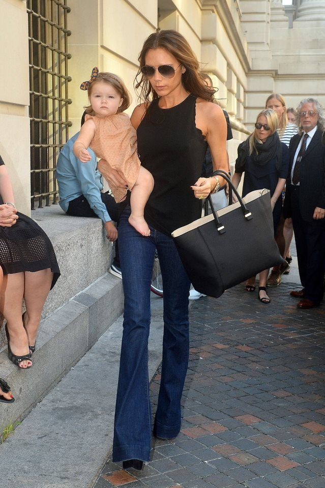 Victoria beckham bootcut jeans, Victoria Beckham