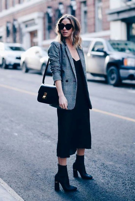 Classy Casual Blazer Outfits Female, Underwear as outerwear