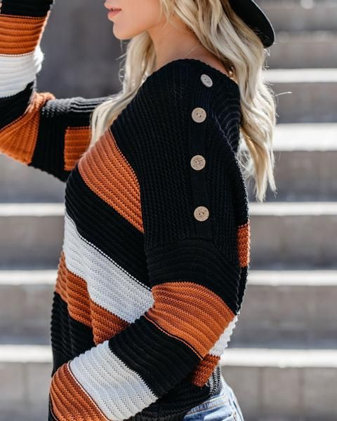 Color Block Sweaters outfit