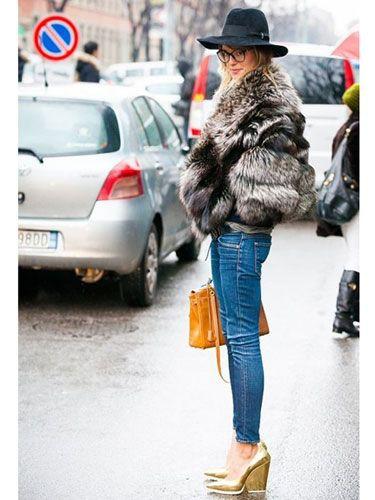 Casual wear Winter Fur Coats