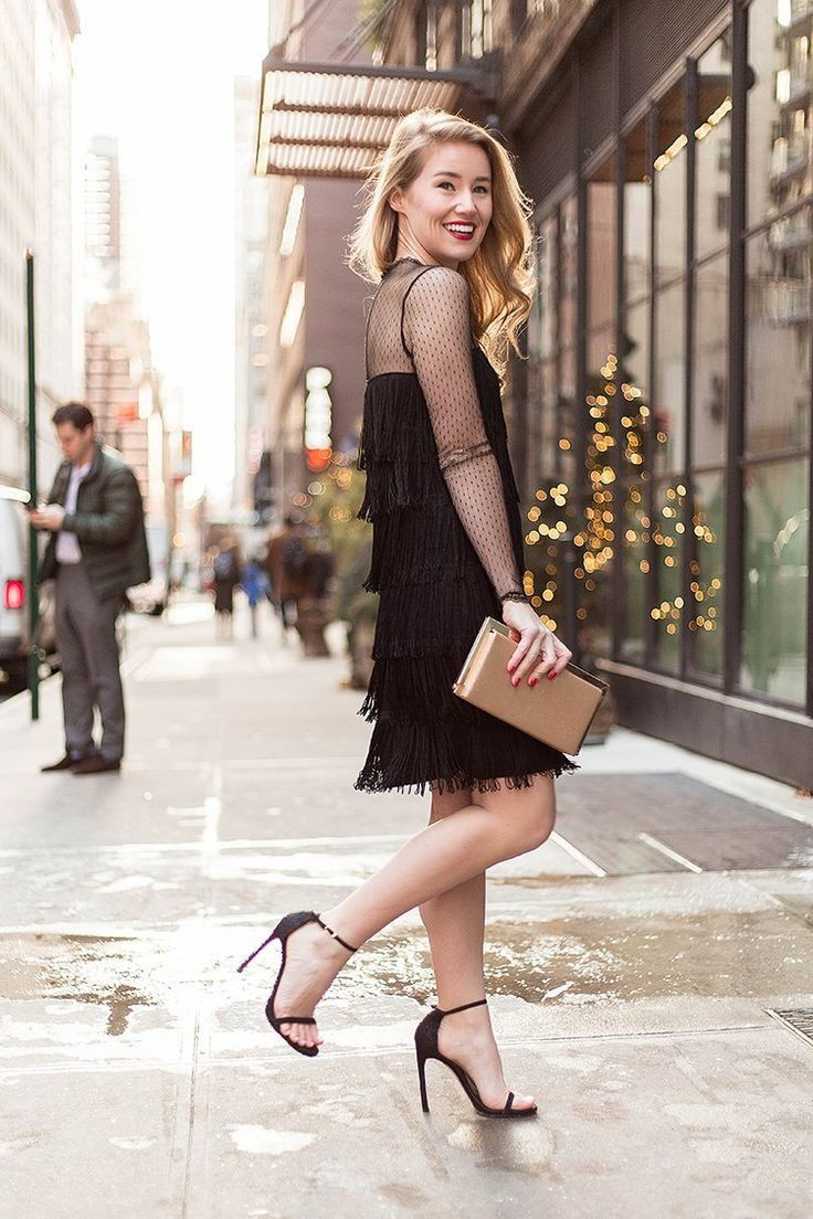 Nice and affordable ideas fashion model, Little black dress