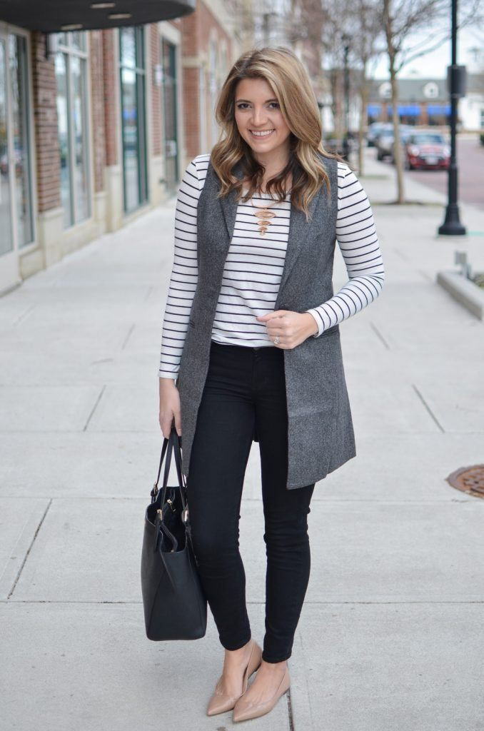 Outfits with grey vest, Casual wear