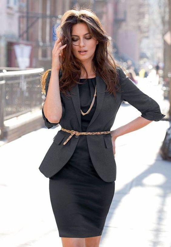 Wear belt with dress, Pencil skirt