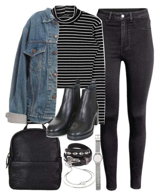 Denim jacket outfits polyvore, Jean jacket