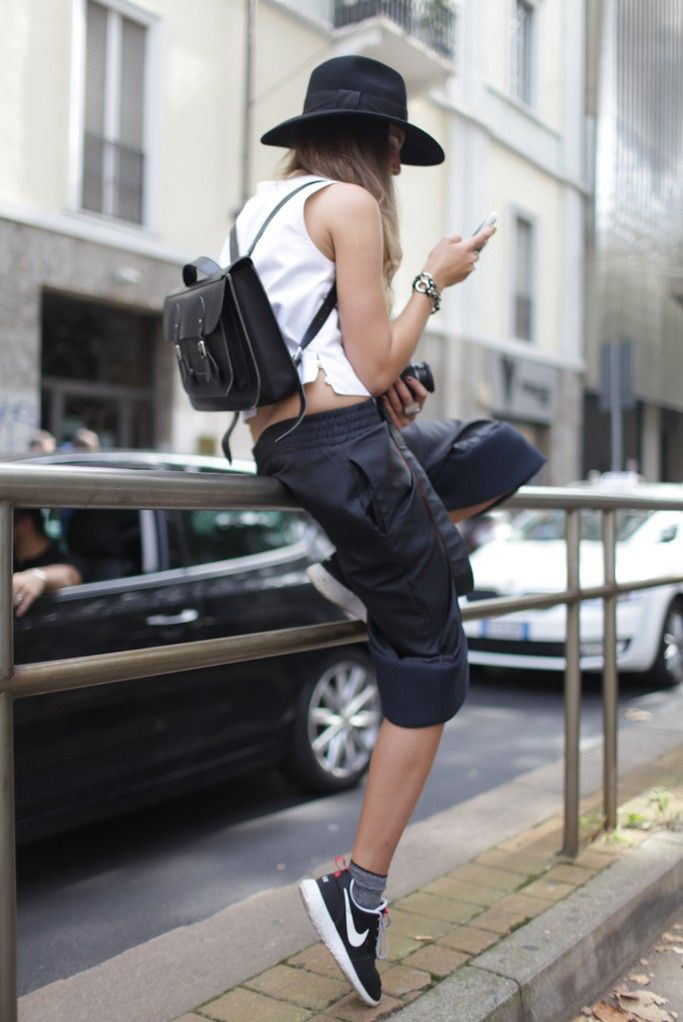 Fine and lovely chic tomboy outfit, Fashion week