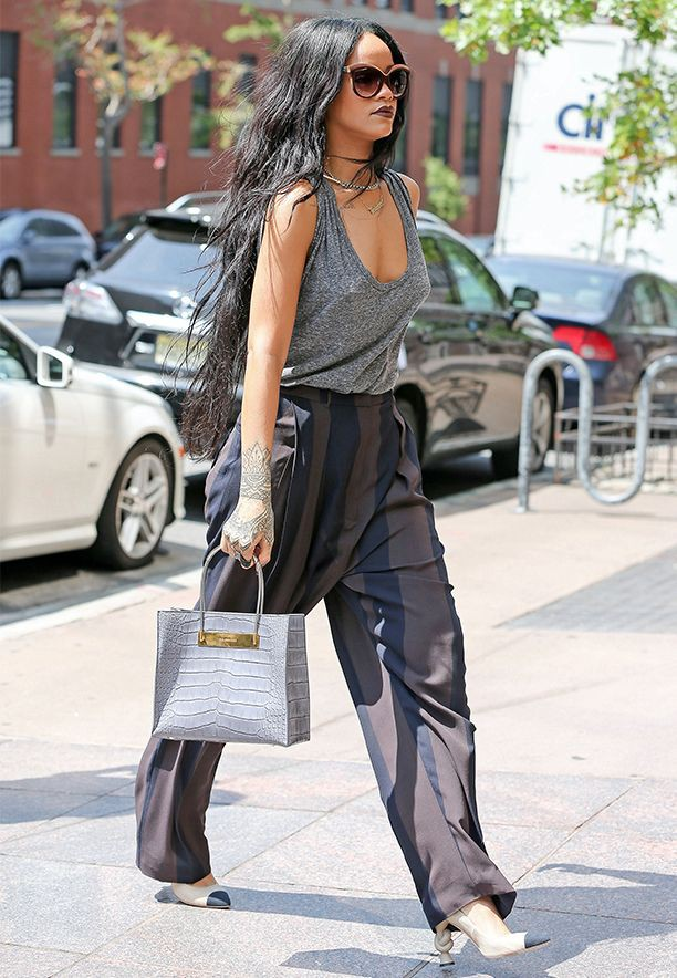 Gorgeous & cute rihanna street style, Street fashion