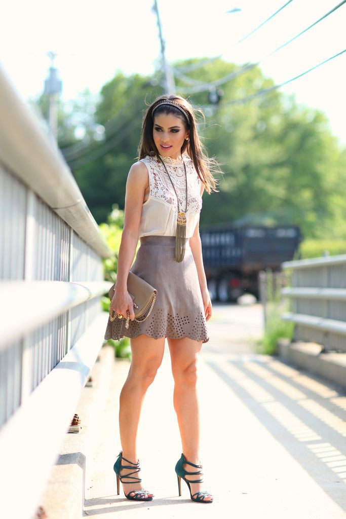 Teenage Skirt Outfits For College