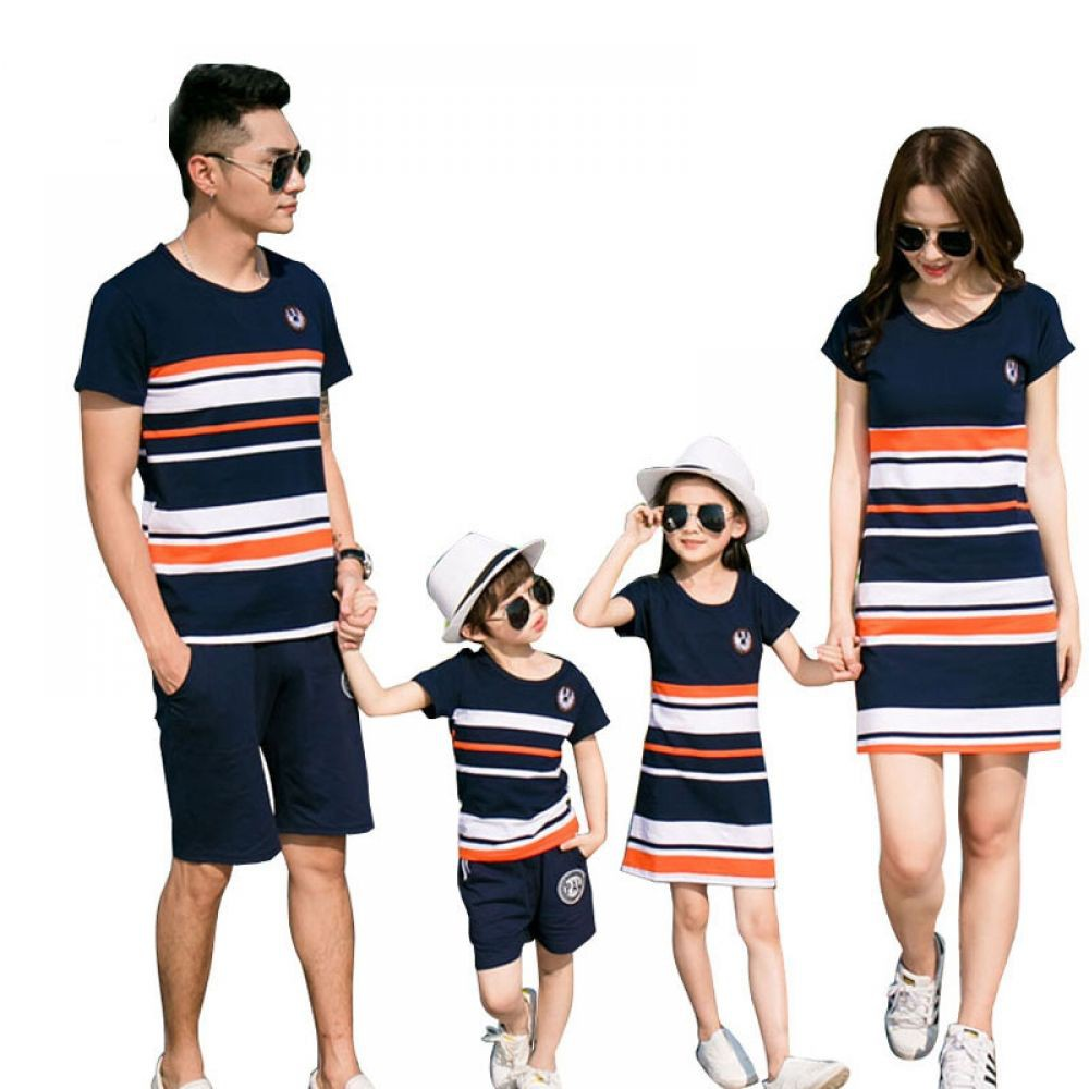 Special selection to select family matching outfits, Dress shirt