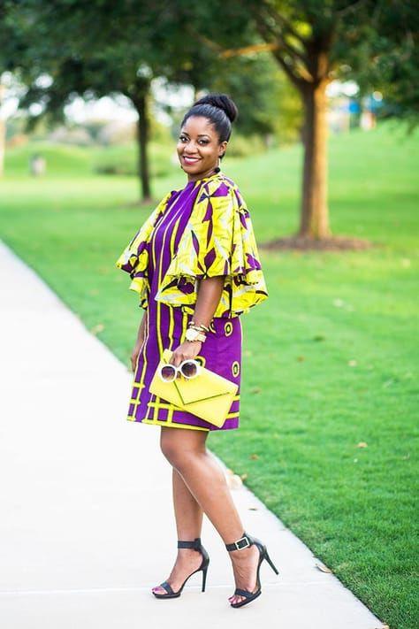 Ankara shift dress styles, African Dress