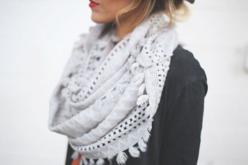 Liked by all scarf cute, Knitted Scarves