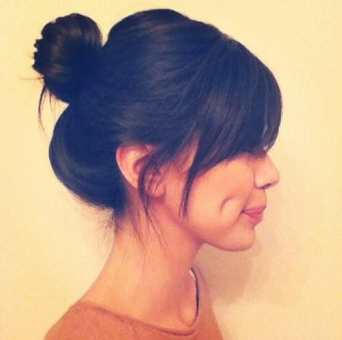 You must check these graduated bangs, Lock and key
