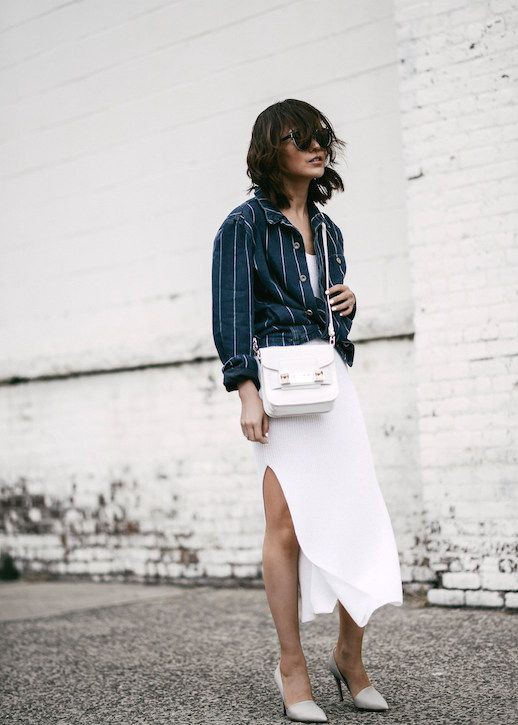 Outfits With White Skirt, Blank NYC