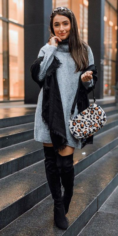 Party Outfits For Christmas & New Year, Polka dot