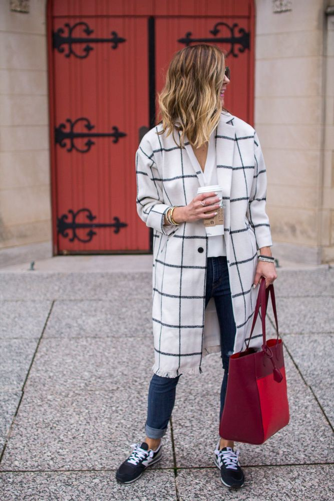 Outfits To Wear With Sneakers, Trench coat, Rebecca Minkoff