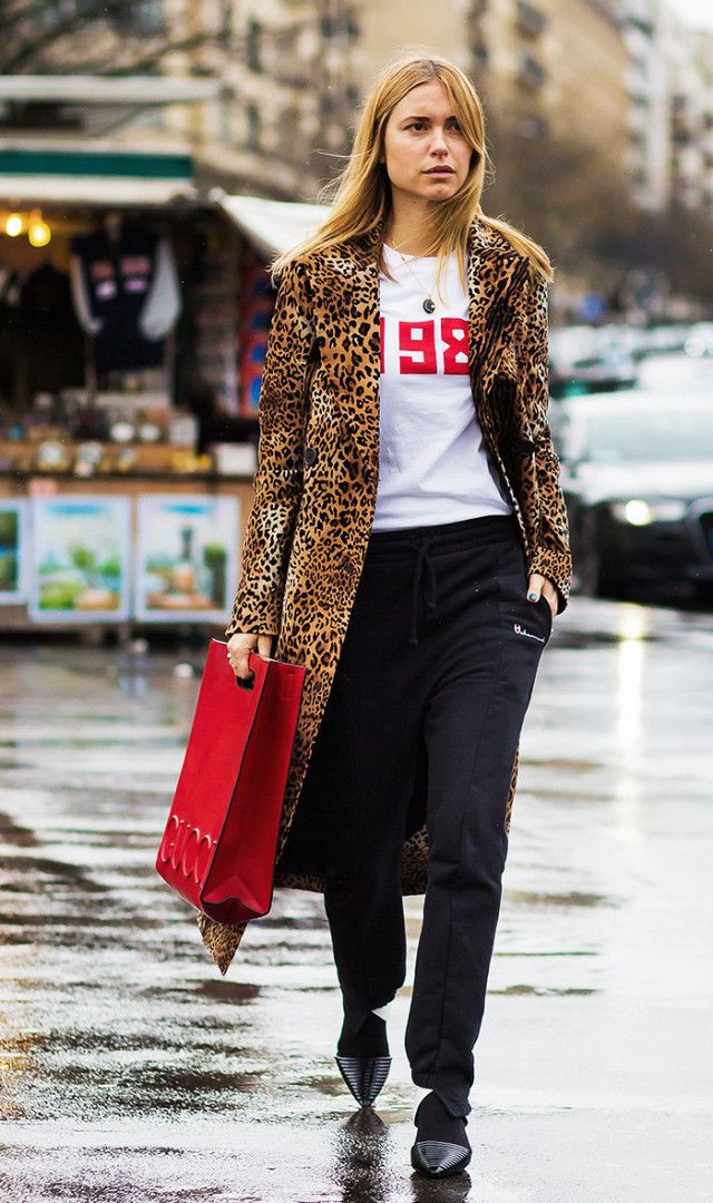 Cute and fascinating Outfits With Leopard Print Jackets