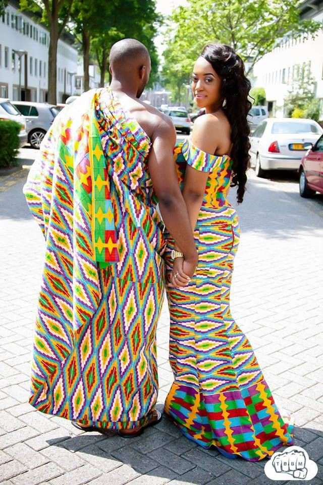 Find out the ghana kente wedding, African wax prints