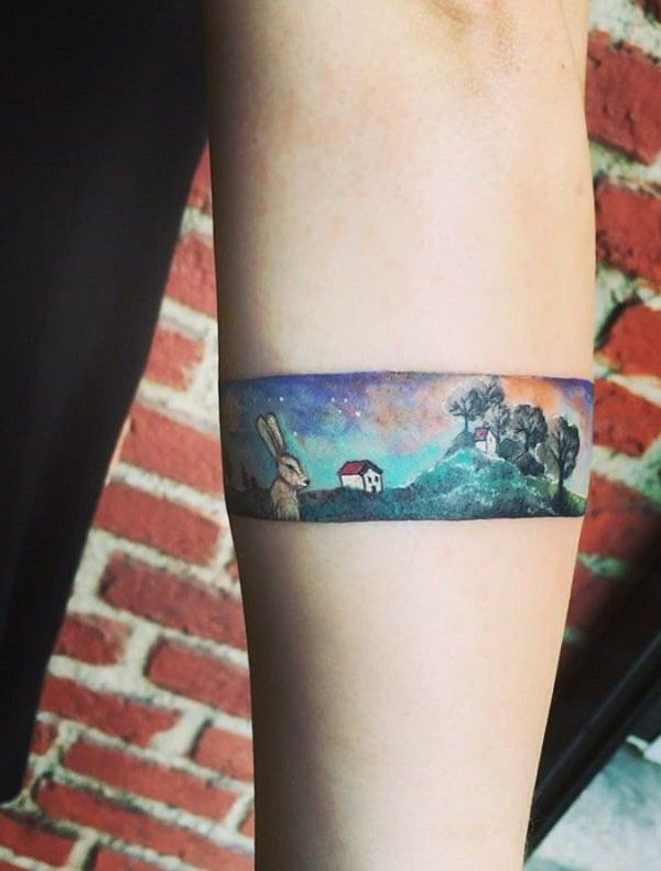 World of pure imagination tattoo