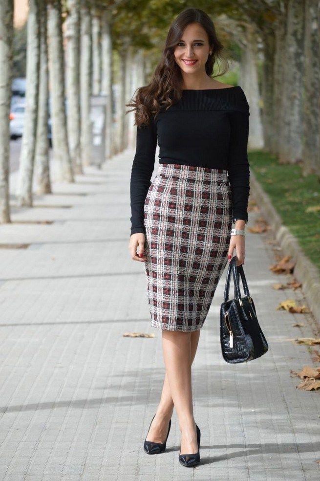Classic look fashion model, Little black dress