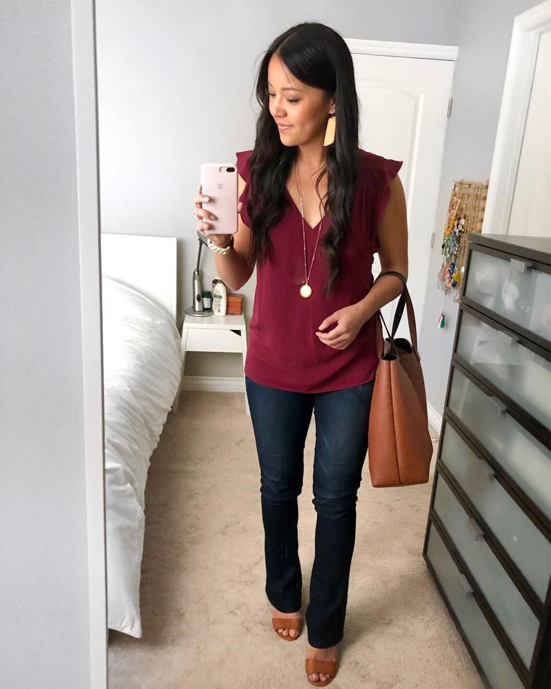 Cute work outfits long cardigan