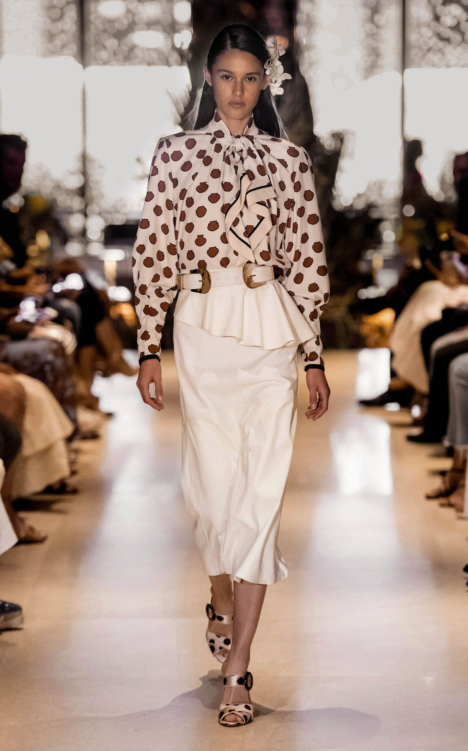 Outfits With White Skirt, Paris Fashion Week, Aleyna FitzGerald