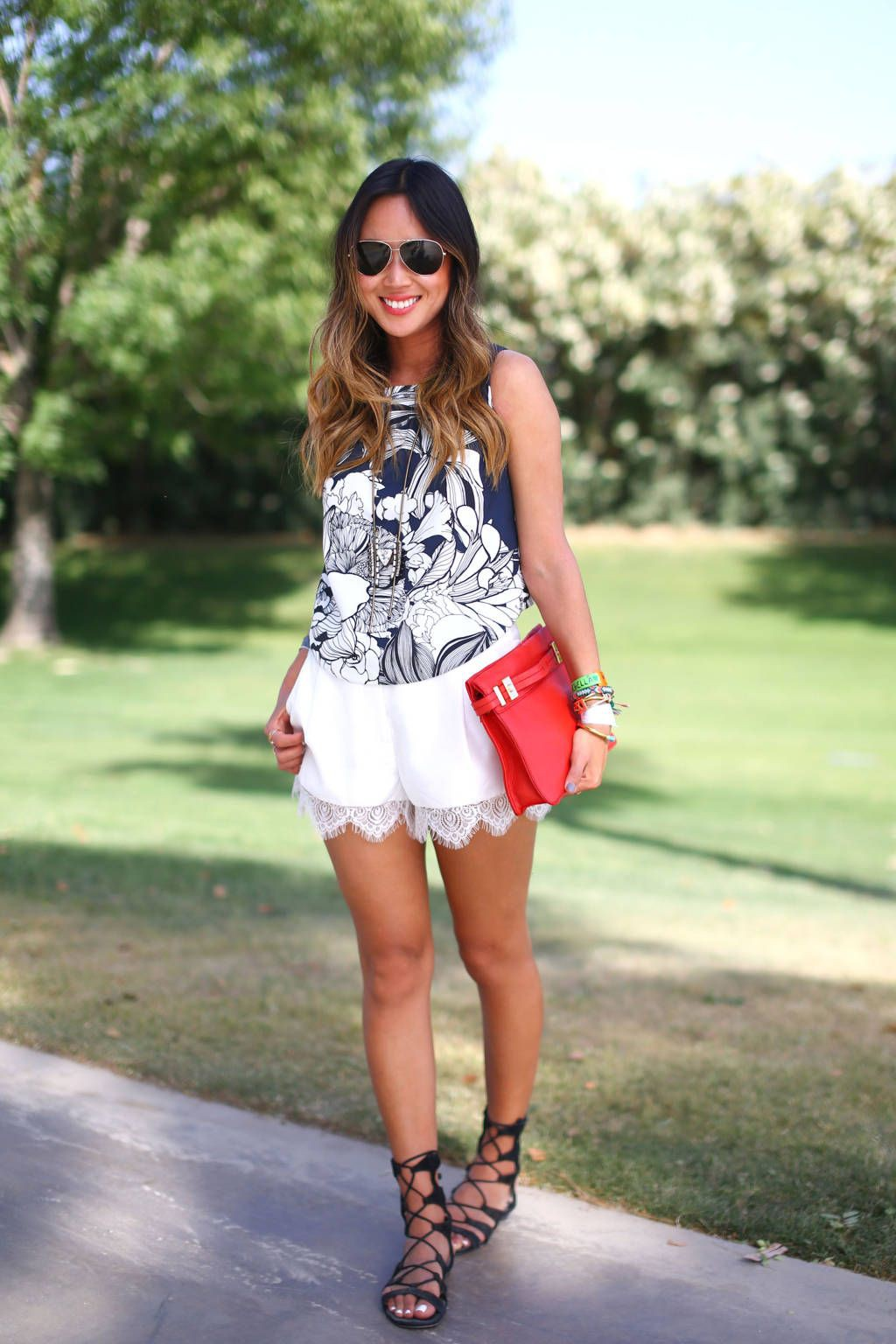 Outfits with lace shorts, Romper suit