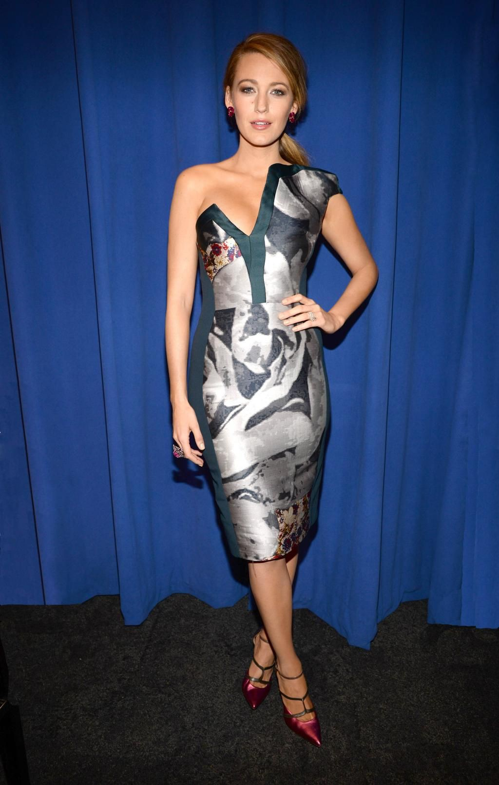 Blake lively midi dress, Blake Lively