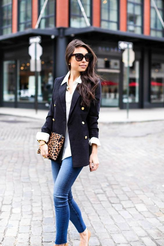 Trendy Casual Blazer Outfits Female