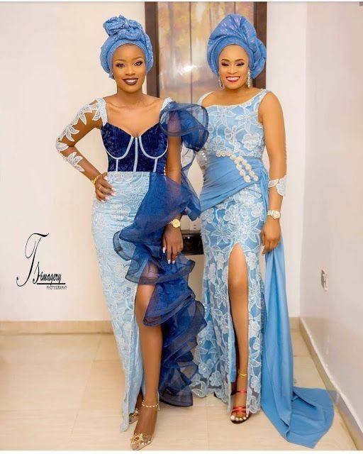 Aso Ebi Styles, African wax prints, Vestido de Encaje