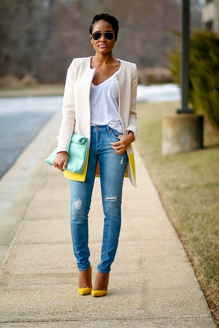 Outfits With Yellow Shoes, Casual wear, High-heeled shoe