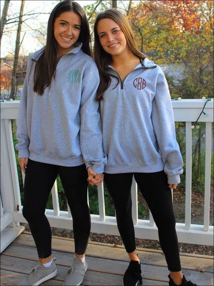 Trendy and elegant quarter zip outfits, Charles River Apparel