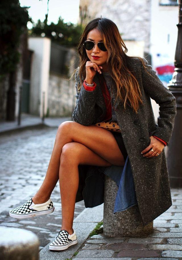Style vans classic slip, Street fashion