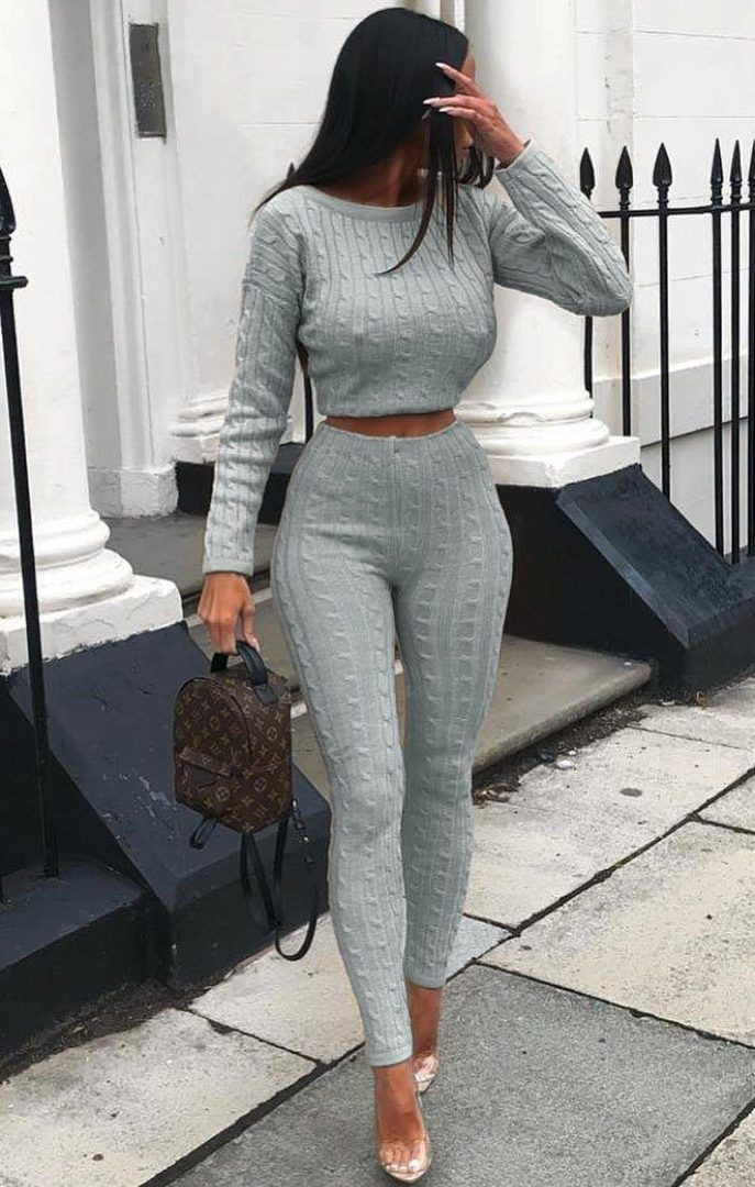 Outfit ideas @ cable knit loungewear, Cable knitting