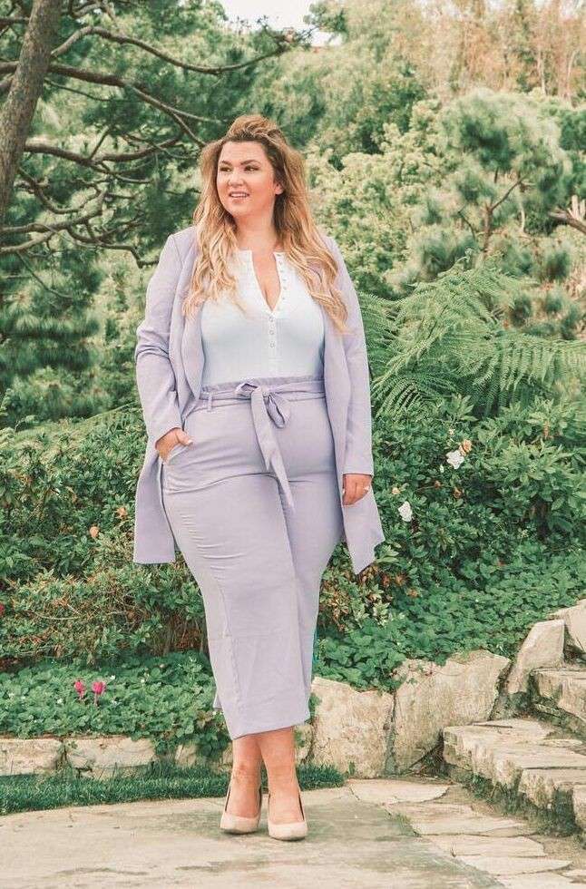 Plus size work outfits, Plus-size clothing