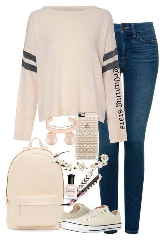 Cute girl outfits for school