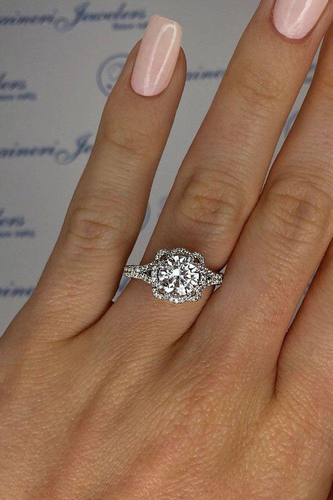Stylish white gold Wedding Rings