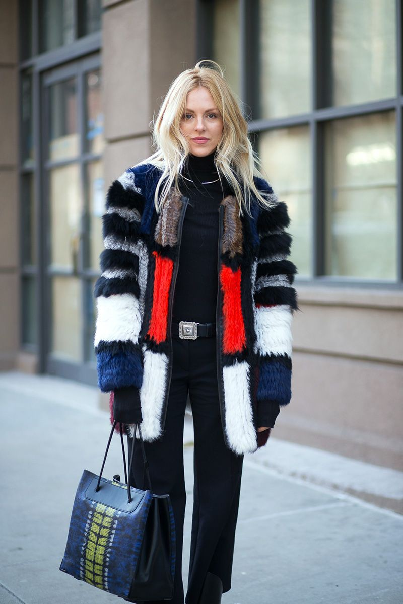 Find more on furs street style, Fur clothing