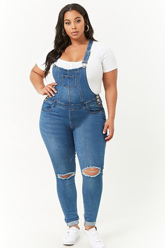 Superb ideas for fat girl overalls, Plus-size model