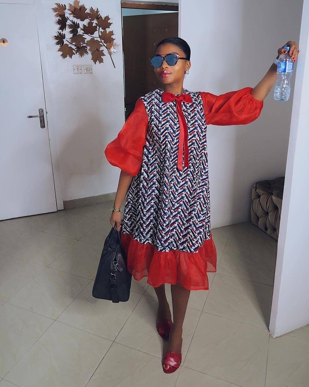 Short African Dresses, African wax prints