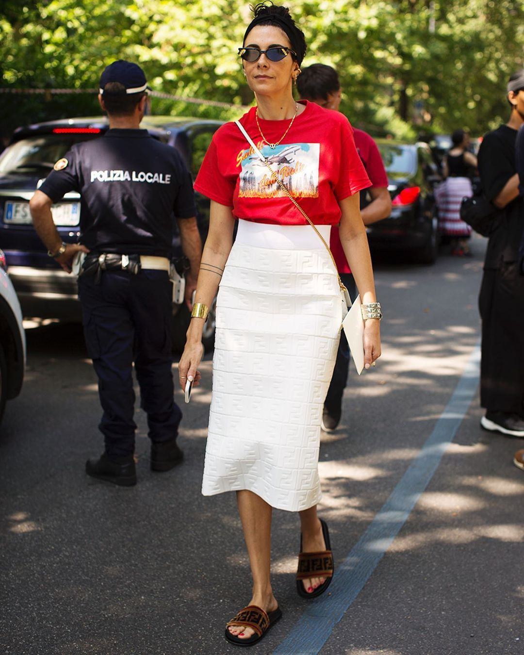 Outfits With White Skirt, Paris Fashion Week, The Sartorialist: Closer