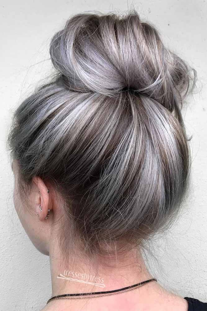 Wow! Nice and perfect platinum hair color, Human hair color