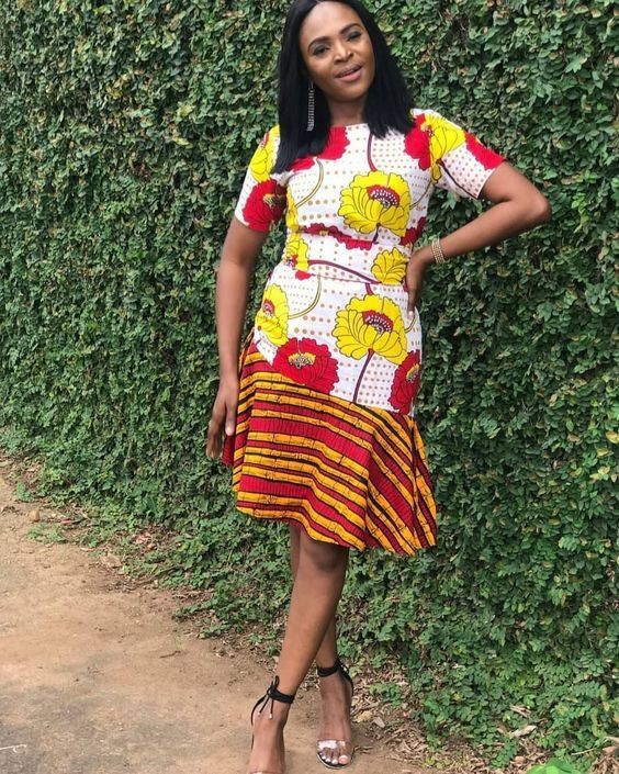 Pick these must have fashion model, African wax prints